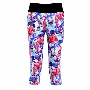1024 Girl 3D Prints Trousers Leggings Pocket Pants - As Picture 3 / S