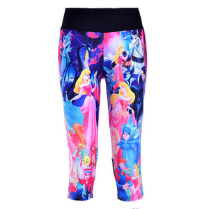 1024 Girl 3D Prints Trousers Leggings Pocket Pants - As Picture 5 / S