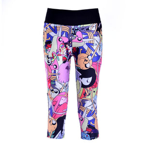 1024 Girl 3D Prints Trousers Leggings Pocket Pants - As Picture 8 / S