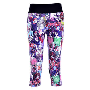1024 Girl 3D Prints Trousers Leggings Pocket Pants - As Picture 10 / S