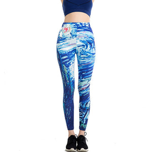 Up Sexy 3d Casual Funny Leggings WAIBO BEAR