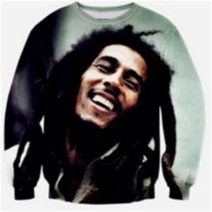 3D Clothing autumn Hip Hop fashion Pullover