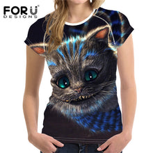 3D Cat T Shirt for T-shirt shirt Tee Tops Plus