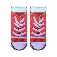 3D Cute Cut Lady Girls Sock Casual Character Socks