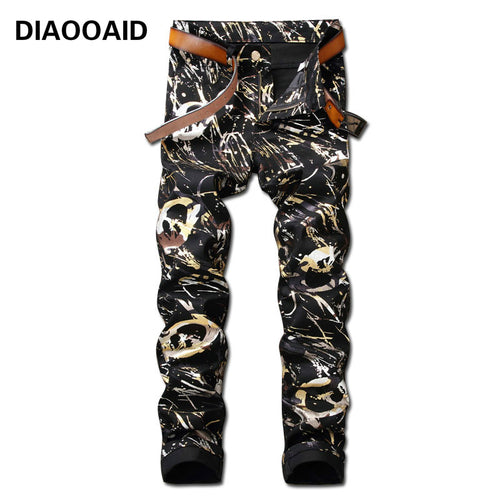 3D Hot Sale Cotton Comfortable Hiphop Denim Trousers