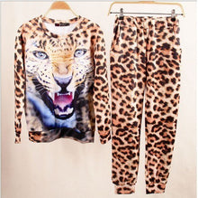 2018 piece set 3D animal print Harajuku Sets Outfits