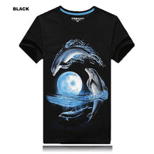 2018 Mens 3D T Shirt Tops Short Sleeve