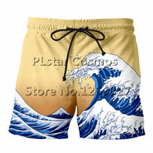 2018 Style Print 3d Casual Cool Sea Water shorts