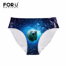 3D Bear the Panty for Ladies Lingerie Calsinha