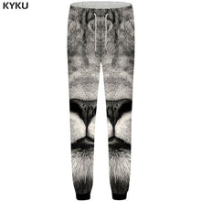 3d Gray Anime Mens Trousers Casual Britches