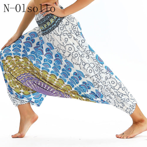 Fitness Wide Leg Trousers 100%Polyester Soft Casual Pants