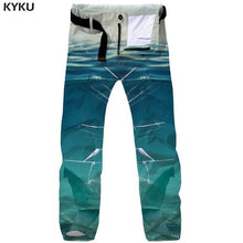 3d Baggy Vintage Mens Trousers Casual Streetwear New