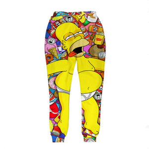 3D for mens/womens Hip Hop style unisex Trousers