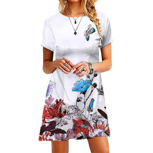 3D A Line Mini Work Office Club Party Dresses S-XXL