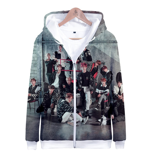 Kpop 3d BTS casual Jacket oversized cotton Coats 4XL