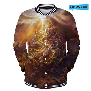 3D Hip Hop Hoodies Characte Sweatshirt Clothing
