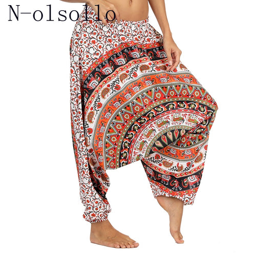 3D High Wide Leg Pants Workout Sporting Fitness Trouser
