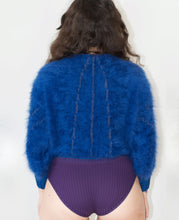 Load image into Gallery viewer, Fuzzy sweater- hand knitted