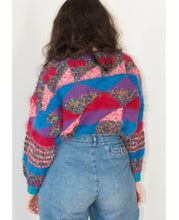 Load image into Gallery viewer, Cubist sweater - hand knitted