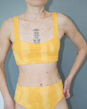 Load image into Gallery viewer, Tie dye high brief marigold
