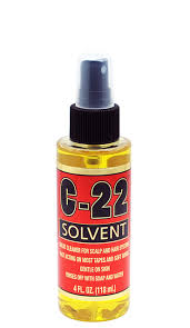 Walker C-22 Citrus Solvent  Adhesive Remover 4 OZ (Available In-Store Only) - GEMSTONE BEAUTY STORE
