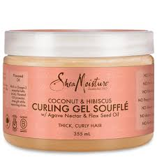 Shea Moisture Coconut & Hibiscus Curling Gel Souffle ( Available In-Store Only) - GEMSTONE BEAUTY STORE