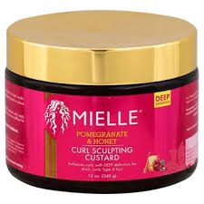 Mielle Organics Pomegranate & Honey Curling Sculpting Custard (Available In-Store Only) - GEMSTONE BEAUTY STORE