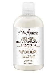 Shea Moisture 100% Virgin Coconut Oil Daily Hydration Shampoo ( Available In-Store Only) - GEMSTONE BEAUTY STORE