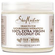 Shea Moisture 100% Extra Virgin Coconut Oil ( Available In-Store Only) - GEMSTONE BEAUTY STORE