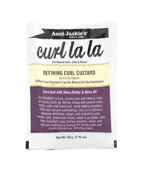 "AUNT JACKIE'S ""CURL LA LA"" DEFINING CURL CUSTARD ( Available In-Store Only) - GEMSTONE BEAUTY STORE"