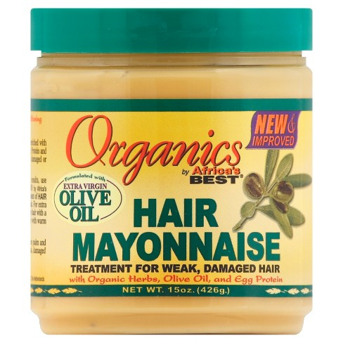 Africa's Best Organics Hair Mayonnaise 15oz ( Available In-Store Only) - GEMSTONE BEAUTY STORE