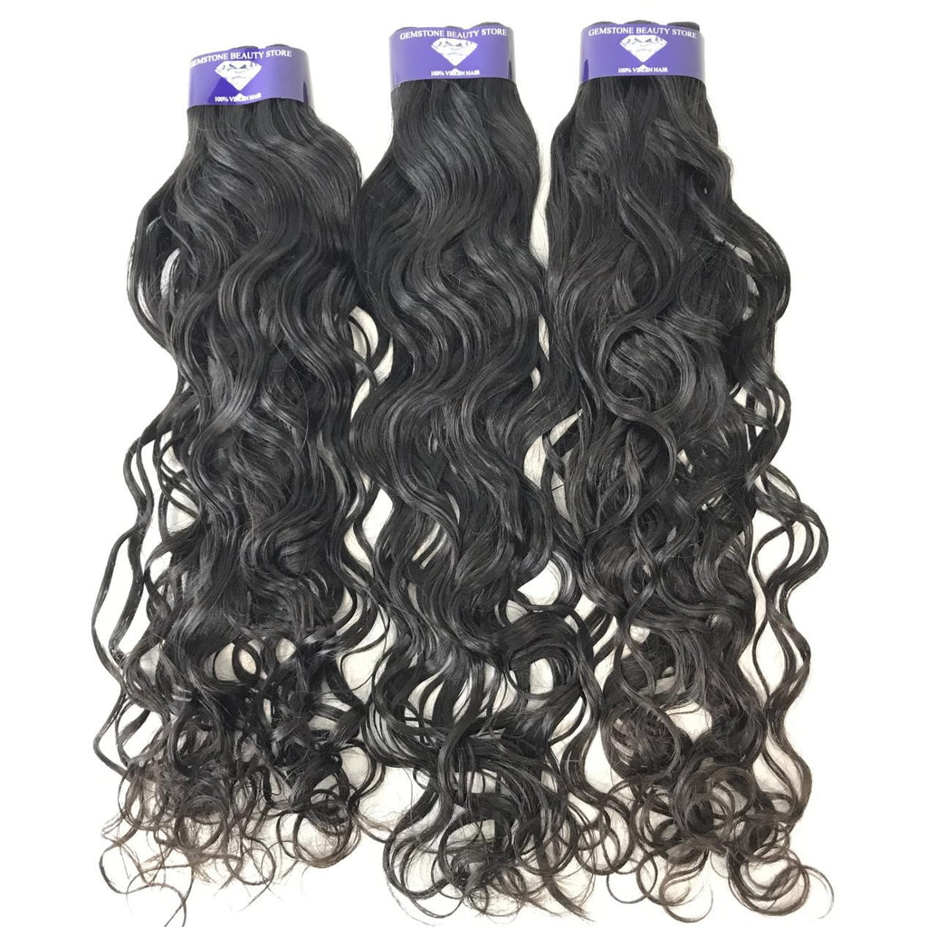 Peruvian Natural Wave- Single Donor – 2 Free Inches - GEMSTONE BEAUTY STORE