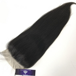 Virgin Straight 5x5 Lace Closure - Single Donor - GEMSTONE BEAUTY STORE