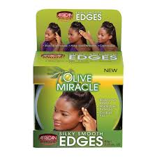 African Pride Olive Miracle Silky Smooth Edges ( Available In-Store Only) - GEMSTONE BEAUTY STORE