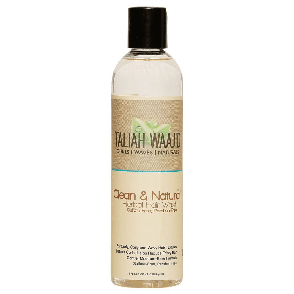 Taliah Waajid Clean & Natural Herbal Hair Wash 8 oz ( Available In-Store Only) - GEMSTONE BEAUTY STORE