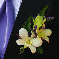Boutonniere - Orchid - New York