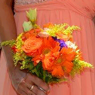 Bridesmaid Bouquet - Tropical - Mobile