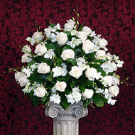 Ceremony Arrangements - Roses & Orchids - New York