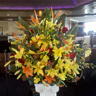 Ceremony Arrangements - Tropical Flowers - New York
