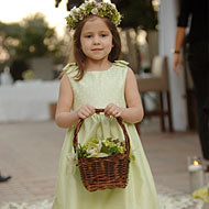 Flower Girl Basket - Tropical - New York
