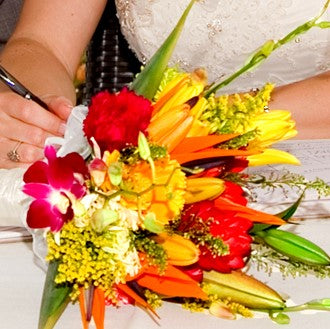 Bridal Bouquet - Deluxe Tropical - Baltimore