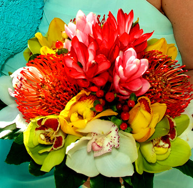 Bridesmaid Bouquet - Tropical - New York