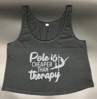 Pole is cheaper than Therapy