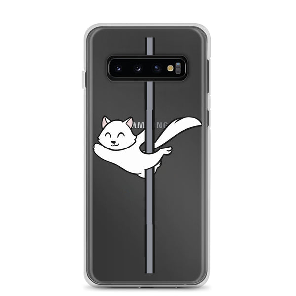 White Cat Samsung Case