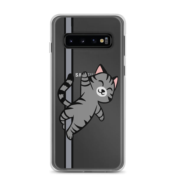 Grey Cat Samsung Case