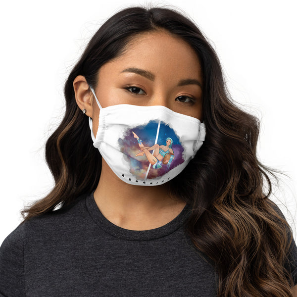 Aquarius face mask