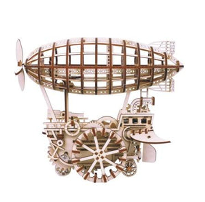 Mechanical Gear Airship