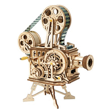 Load image into Gallery viewer, Wooden Mechanical Gear Vitascope
