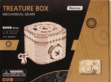 Load image into Gallery viewer, Wooden Mechanical Gear Treasure Box