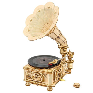 Mechanical Gear Classical Gramophone